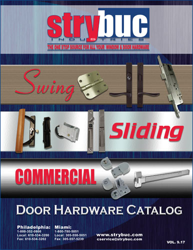 Strybuc 2017 Swing, Sliding and Commercial Door Hardware
